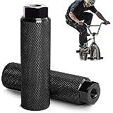 Clavijas para Pedales BMX Antideslizantes de aleación de Aluminio, Clavijas de Acrobacia BMX Clavijas de Bicicleta, Pedal de Bicicleta Apto para Ejes Delanteros o Traseros