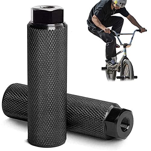Pedale BMX in Lega di Alluminio,Picchetti Bike, Pedane Bicicletta,Antiscivolo,Poggiapiedi da Bicicletta,per BMX Bicicletta Mountain Bike Bambini e Adulti