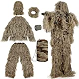 Best Ghillie Suits - PELLOR Ghillie Suits 6 in 1 Camo 3D Review