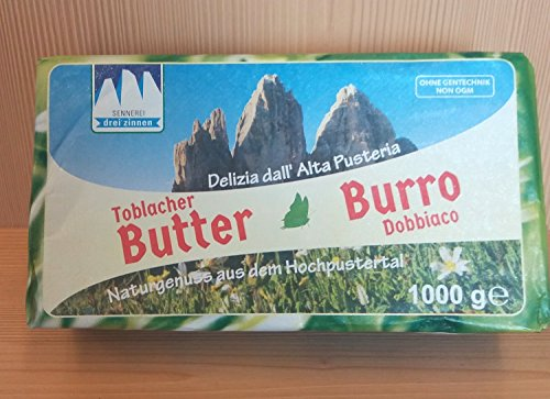 Toblacher Butter Stange 1 kg. - Sennerei Drei Zinnen