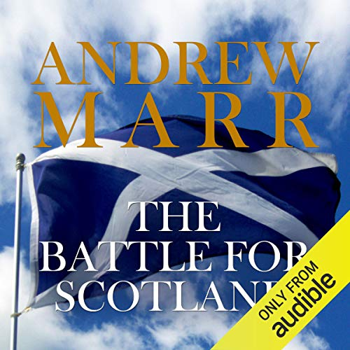 The Battle for Scotland audiobook cover art