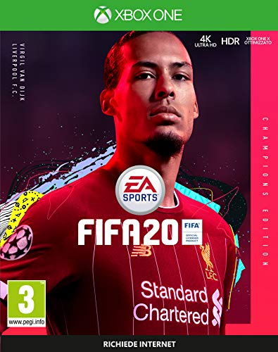 FIFA 20 - Champions - Xbox One, 3 anni +