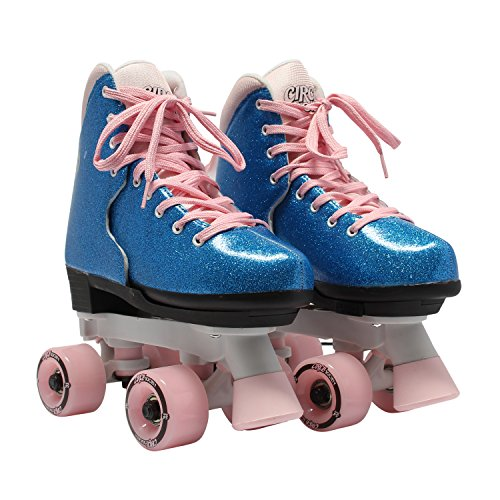 Circle Society Classic Adjustable Indoor and Outdoor Childrens Roller Skates -...