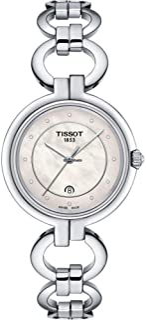 تيسوت ساعة فلامينجو ستانلس ستيل رسمية لون رمادي T094210111600