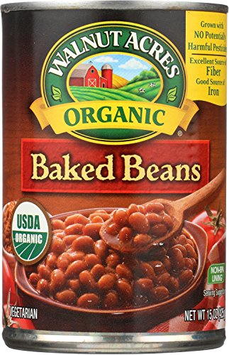 Walnut Acres Organic Baked Beans, 15 Oz (Pack of 12)
