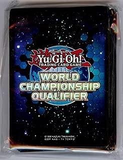 Yu-Gi-Oh 2012 World Championship Qualifier (WCQ) Sleeves Blue