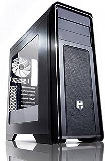 Nox Hummer ZX - NXHUMMERZX - Caja PC, ATX, Color Negro