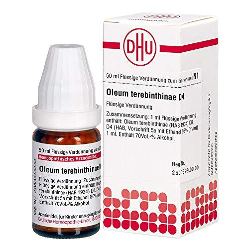 OLEUM TEREBINTHINAE D 4, 50 ml