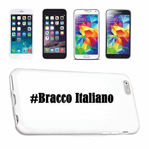 Reifen-Markt Handyhülle kompatibel für iPhone 7 Hashtag #Bracco Italiano im Social Network Design Hardcase Schutzhülle Handy Cover Smart Cover