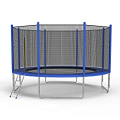 【Galvanized Coating Technology】 All metal frames use hot-dip galvanizing technology, plays the function of rust and corrosion prevention, so that the trampoline can not be easily damaged in bad weather. 【Seamless Design】 Jumping mat and spring, sprin...