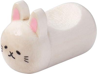 みみぷく箸置ウサギぷくっと耳がかわいい木製箸置きグラポートWooden chopstick rest