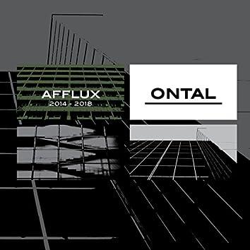 Afflux 2014-2018