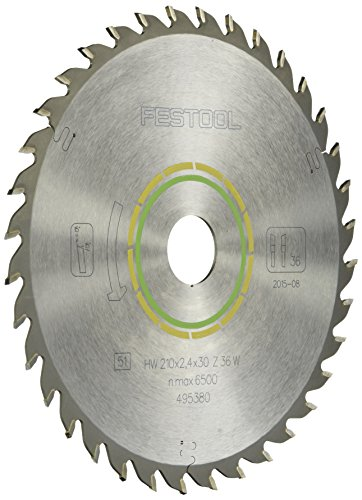 Festool 495380 Universal Blade For TS 75 Plunge Cut Saw - 36 Tooth