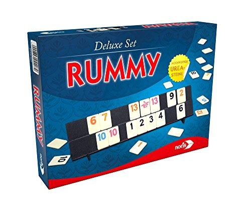 Noris 606104407 - Rummy, Deluxe Set, Familienspiel