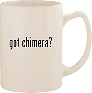 got chimera? - White 14oz Ceramic Statesman Coffee Mug Cup