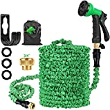 100ft Garden Hose Pipes Expandable Garden Flexible Hose Pipe with Multi Spray Hose