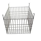 MTB Garden Wire Compost Bin 30x30x24 inches, Black, Garden Bed Fencing