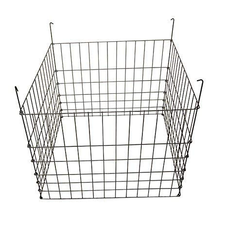 Review Of MTB Garden Wire Compost Bin 30x30x24 inches, Black, Garden Bed Fencing