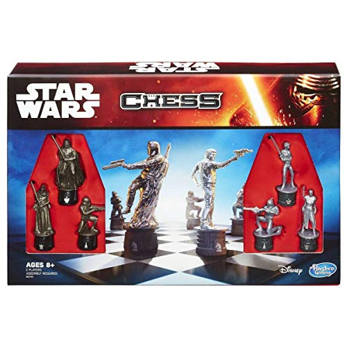 Hasbro Star Wars schaakspel | Met Star Wars personages als Darth Vader, Han Solo, etc. | Voor kinderen vanaf 7 jaar
