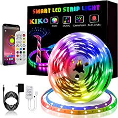 Color changing lights Music function Time function Wide range of uses Easy to install