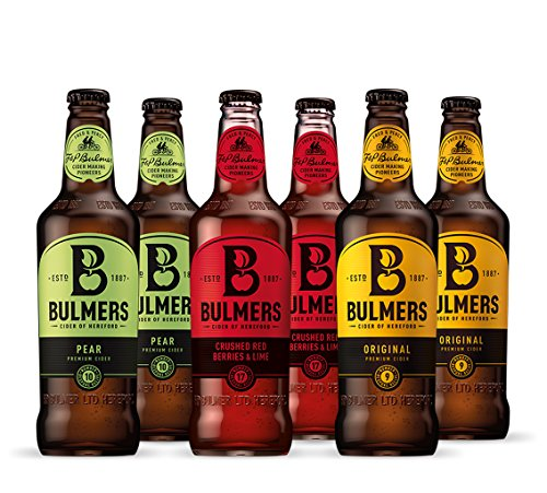 Bulmers Set 6 Flaschen Bulmers Cider Mix 6x500ml