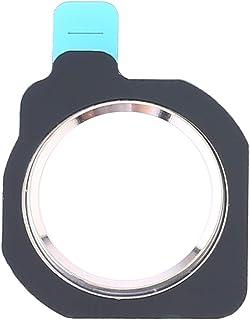 Pantaohuaes Hemknappen Protector ring för Huawei Nova 3i / P Smart Plus (2018) (Svart) (Color : Silver)