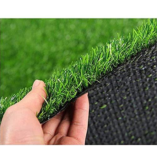WJ Künstliche Teppich Dach Shelter Vermietung Renovierung Dekoration Kunststoff Gefälschte Gras Startseite Zimmer Schlafzimmer Wand Kindergarten Outdoor Villa ( Color : T 2cm , Size : 2*5m )
