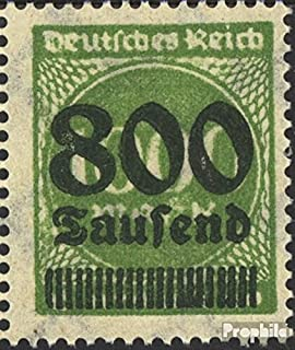 German Empire 308II Tested, fette Inscription German Empire 1923 Hyperinflation (Stamps for Collectors)