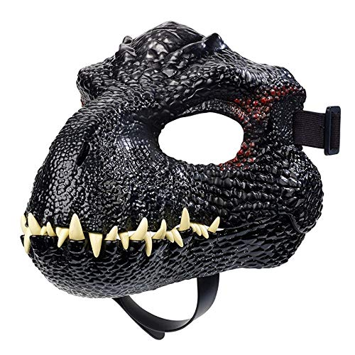 Price comparison product image YFJLOVE Jurassic World 2 Sound Effects Dinosaur Mask FMB74 Boys Toy Gift Blue (Color : Brown)