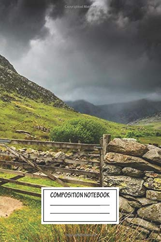 Notebook: Way To Tryfan Mountain Wide Ruled , Journal for Writing, Size 6