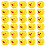 N\C GTANG Mini Rubber Ducky Float Duck Baby Bath Toy Birthday Party Favors Decorations Baby Showerfor Kids Celebrate The Joy of The Children (50 Pack)