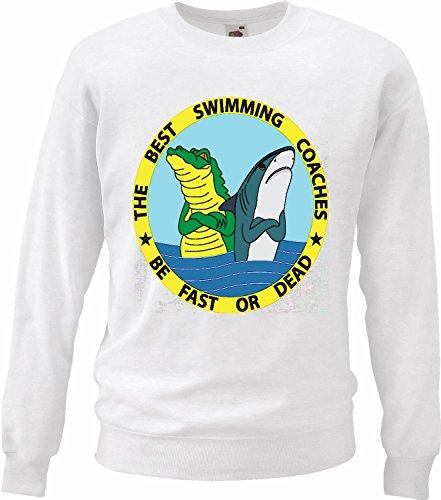 Sweatshirts Hai wit en krokodil voor de beste zwemmers Megalodon badkuip blauw hamerhai kant zwart whalesharks haai in wit