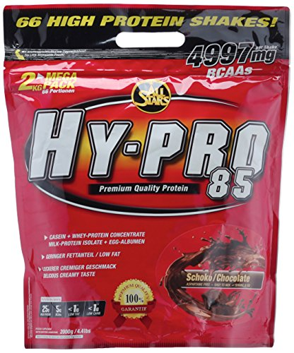 All Stars Hy-Pro 85 Protein, Schoko, 1er Pack (1 x 2000 g)