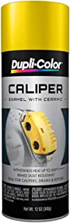 yellow brake caliper spray paint