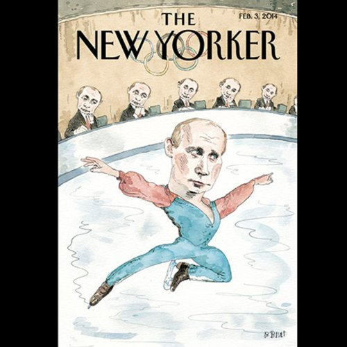The New Yorker, February 3rd 2014 (Ian Johnson, Ken Auletta, Peter Schjeldahl) audiobook cover art