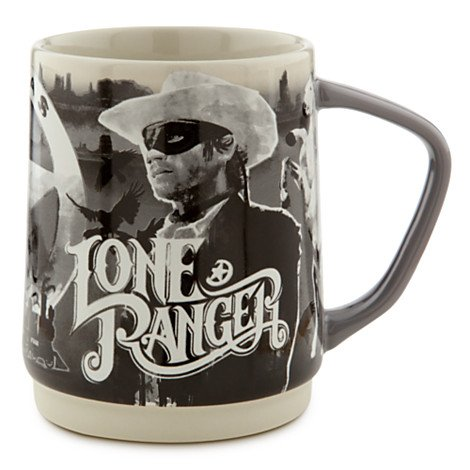 DISNEY THE LONE RANGER COWBOY SAMMEL KAFFEE BECHER MUG