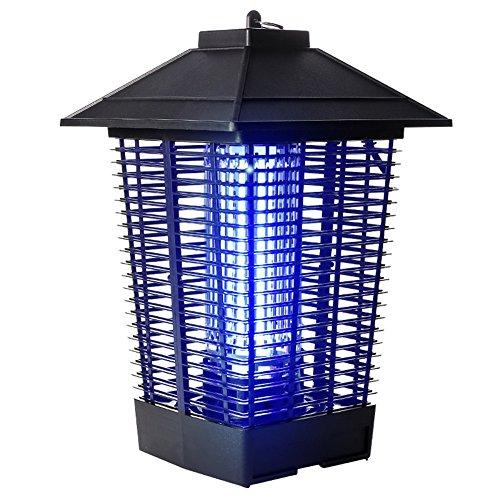 PENGFEI Lámpara del Mosquito Plagas Repelente Descarga Eléctrica Luz Púrpura UVA Inducido...