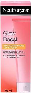 Neutrogena Glow Boost Gesichtspflege, Revitalisierendes LSF 30 Fluid, mit Vitamin C, für..