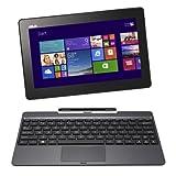 ASUS T100TAシリーズ NB / gray (WIN8.1 32bit / 10.1inch touch / Z3740 / 2G / 32G + 500GB / Home&Biz / JISキーボード) T100TA-DK532GS