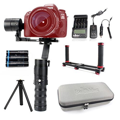 Beholder EC1 Estabilizador Gimbal de 3 Ejes Equipado con Controlador DE 32 bits y para 8 Libras de Carga útil para Canon 5D4, Panasonic GH5, Sony A7 Series, Cámara Nikon DSLR
