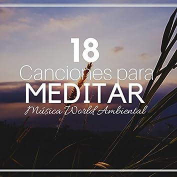 18 Canciones para Meditar: Música World Ambiental, Canciones Relajantes Indias, Sonidos de la Naturaleza