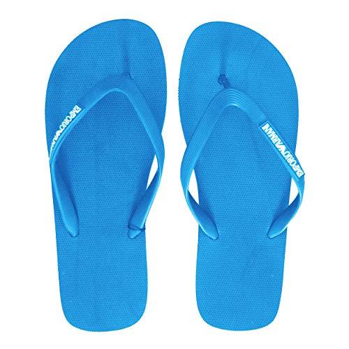 Emporio Armani Flip Flops 45 Blue Aster (00028)