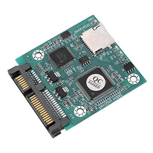 Convertitore da scheda di memoria ASHATA Micro SD/TF a adattatore SATA Convertitore da scheda di memoria AS SATA HDD/SSD Supporto 32 GB SD Sard Capacità per DOS, Windows 98SE, Me, 2000, XP, Vista, Lin