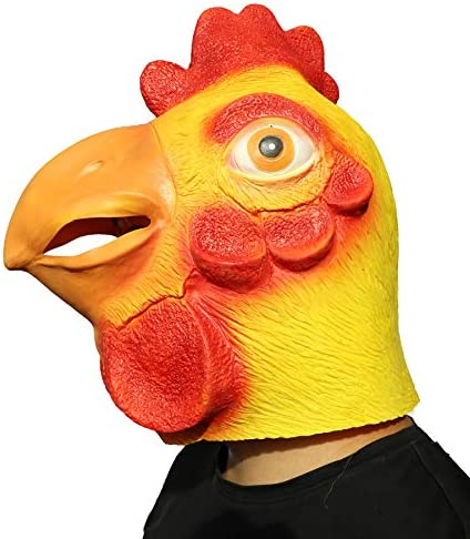 Chicken head costume _image1