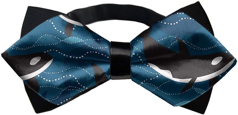 Men Teen Boys Pre-Tied Bowtie Necktie For Business Wedding Party Graduation