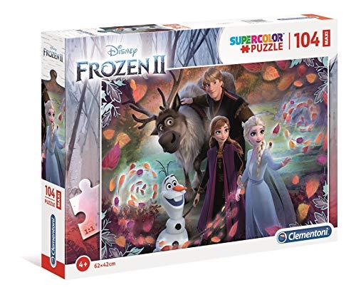 Puzzle 104 Supercolor Maxi Frozen
