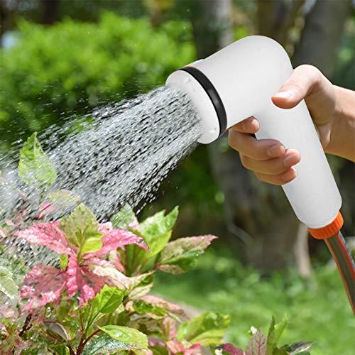 Pulverizador de bidé de mano de plástico con cabezal de pulverización de ducha con interruptor compacto para limpieza de inodoros para baño de mascotas