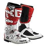 Gaerne SG12Bottes pour moto cross 45 blanc/rouge