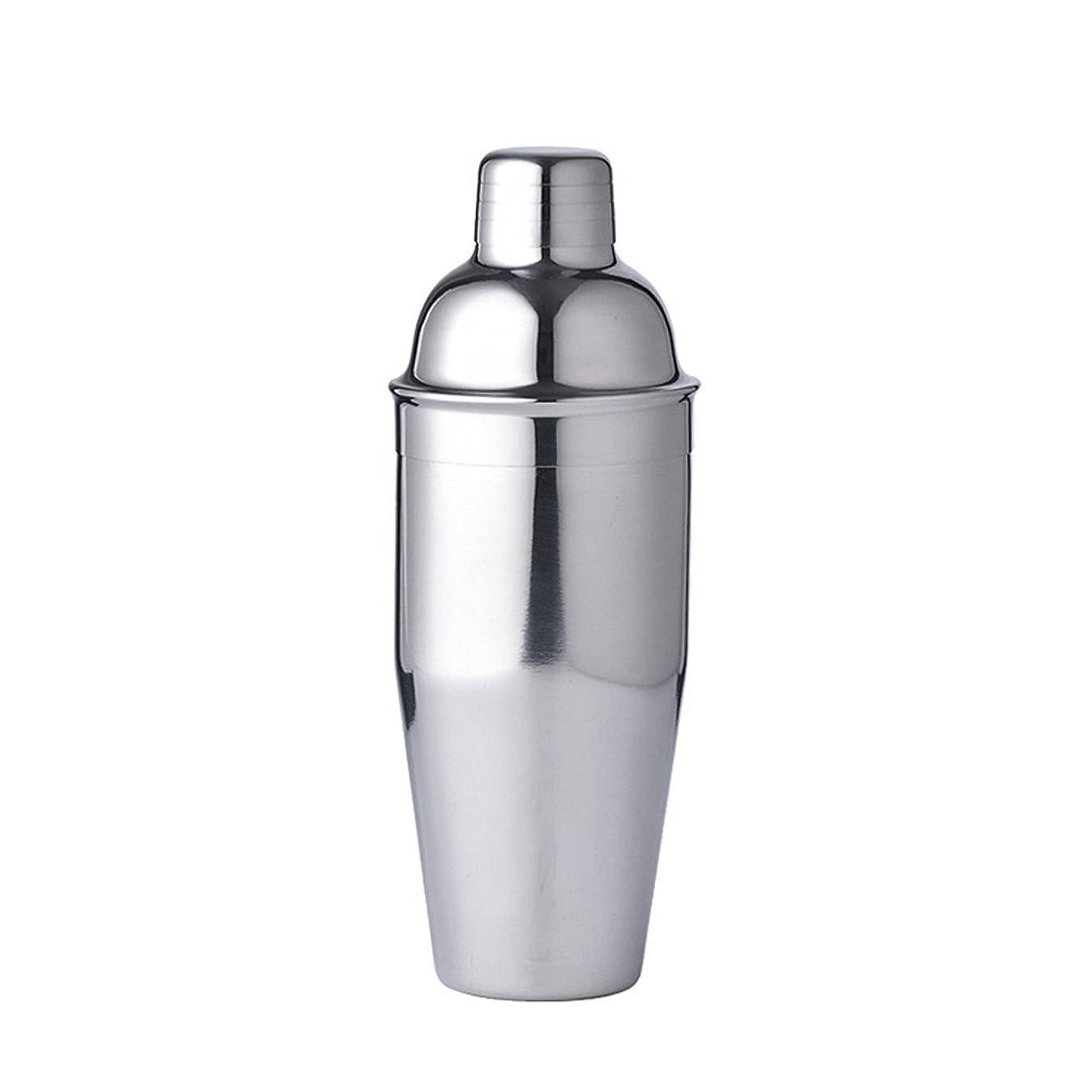 LUCKYGOOBO Stainless Steel Cocktail Shaker,25oz(750ml) Martini Shaker,Bartender Kit,Silver