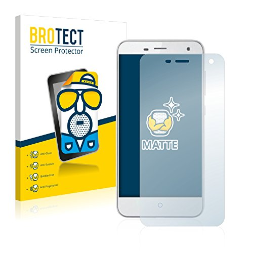 BROTECT 2X Entspiegelungs-Schutzfolie kompatibel mit ZTE Blade L3 Bildschirmschutz-Folie Matt, Anti-Reflex, Anti-Fingerprint